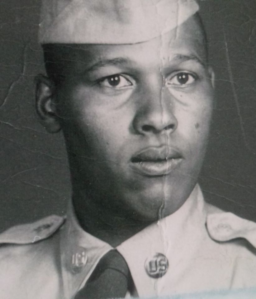 Benard obit and front of memorial folder picture